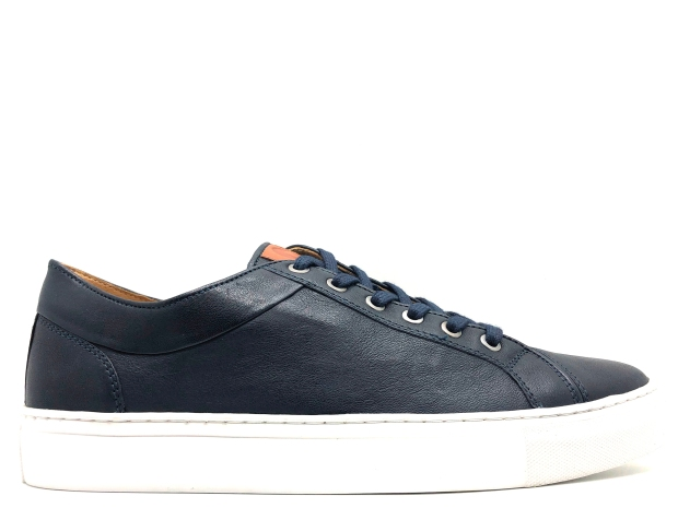 thies vegetabil gegerbte Sneaker 21601 Navy Tan Sheep Nappa veg (1)