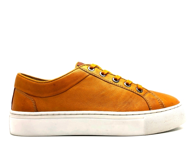 thies vegetabil gegerbte Sneaker Art. 53561 Yellow Tan Sheep nappa veg. (4)