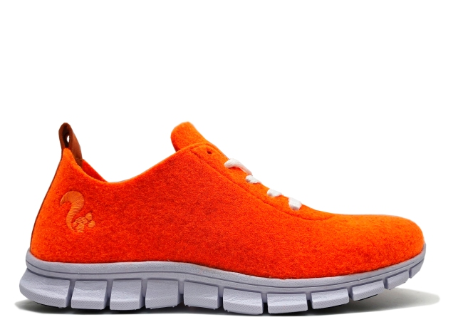 thies PET Sneaker neon orange