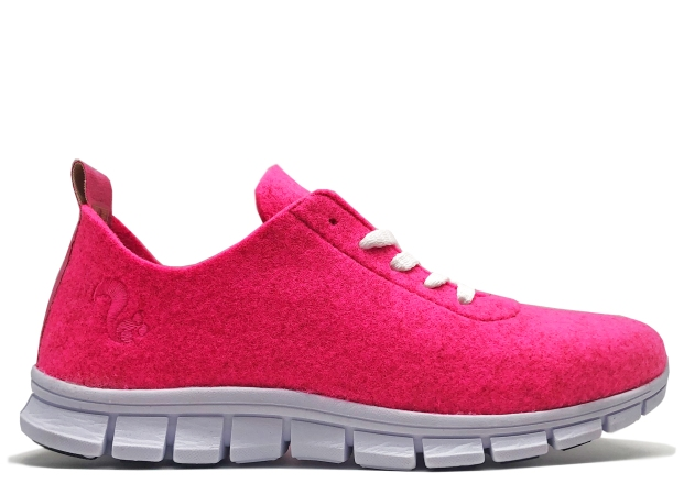 thies PET Sneaker neon pink